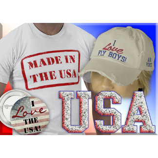 Proud to be an American! Patrotic Wear and gifts!