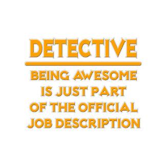 Detective .. Official Job Description