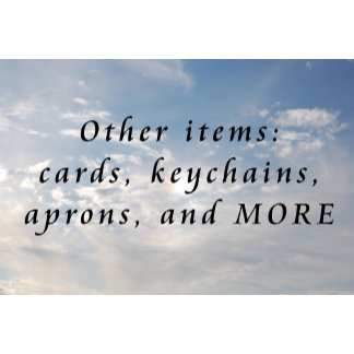z ~ Other items - cards, keychains, aprons, & MORE