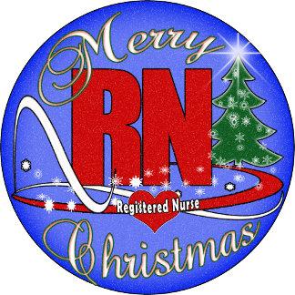 RN CHRISTMAS MERRY - REGISTERED NURSE