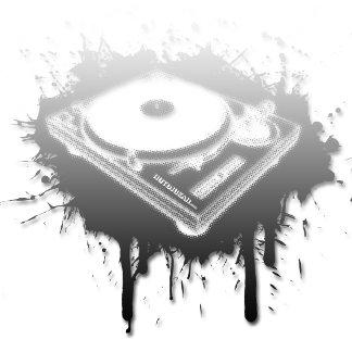 DJ Turntable Graffiti