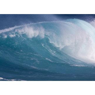 Blue wave crashing, Maui, Hawaii, USA