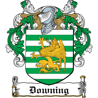 Downing Coat of Arms