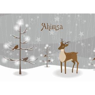Ahimsa Christmas Gifts - Reindeer Design