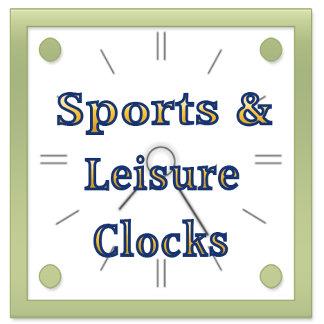 Sports & Leisure Wall Clocks