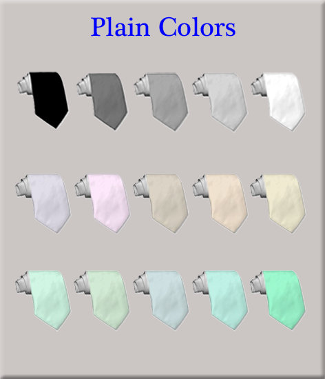 Plain colors