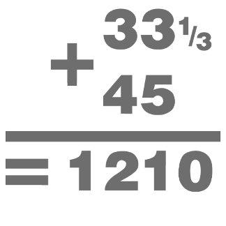 1210 Turntable Maths