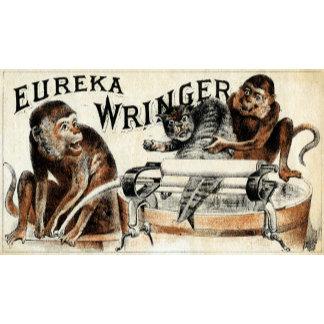 19th C. Eureka Wringer