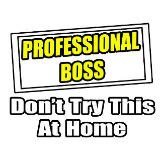Professional Boss...Don't Try This At Home