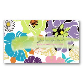 Alegre ~ retro floral/DIY background color