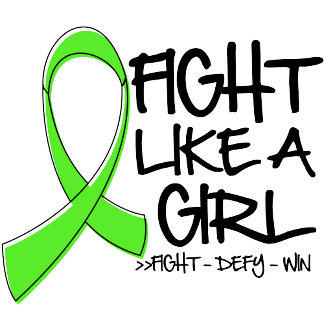 Lymphoma Fight Like a Girl Ribbon