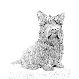 Cute Scottish Terrier dog art