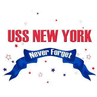 USS New York, Never Forget