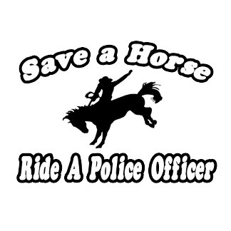Save Horse, Ride Police Officer