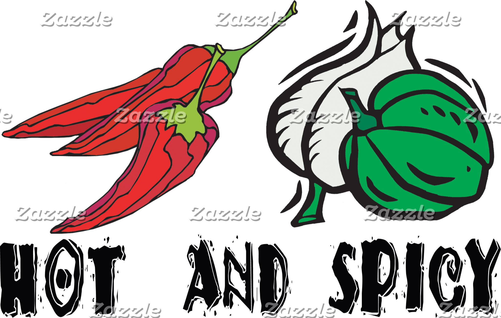 Mexican Hot And Spicy T-Shirt Gifts Cards