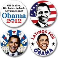 Obama Buttons