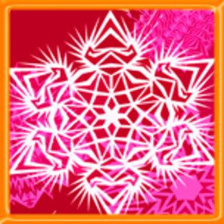 Fire Snowflake Design