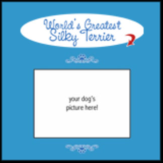 Personalized World's Greatest Silky Terrier