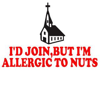 Atheist joke tees,godless allergy atheist theme