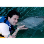 Vincent Kissed by a Dolphin Tortola British Virgin