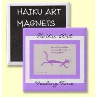HAIKU ART MAGNETS