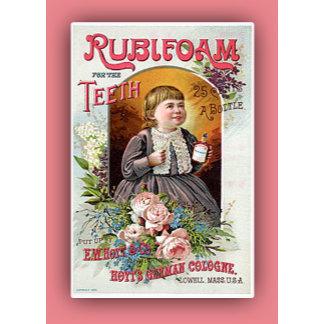 Vintage Advertising Art on Cards