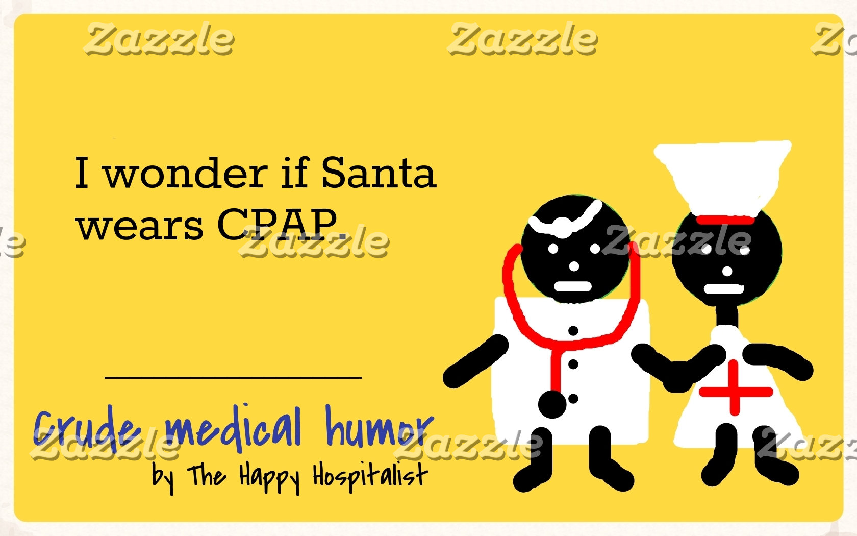 I wonder if Santa wears CPAP.