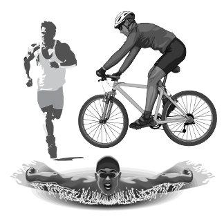 Cycling Running Swimming