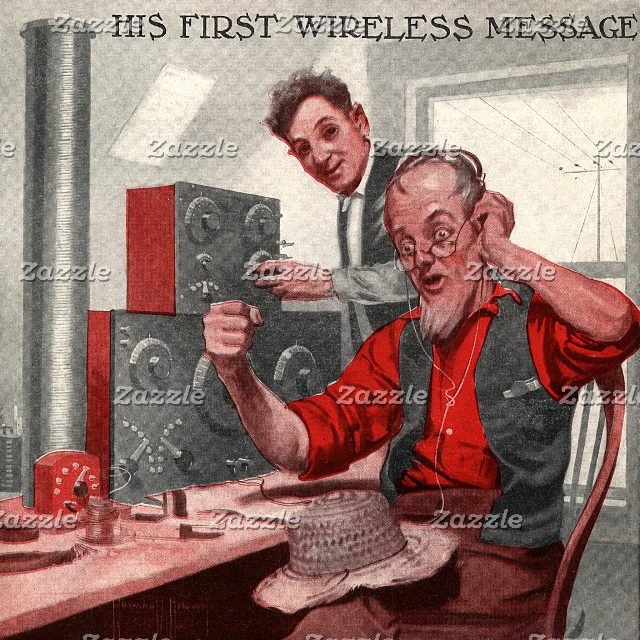 First Wireless Message