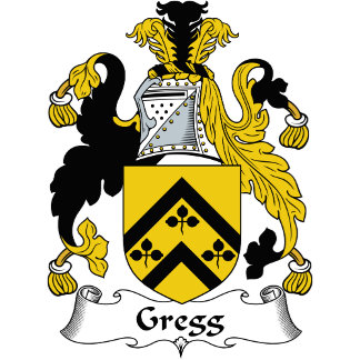 Gregg Family Crest / Coat of Arms