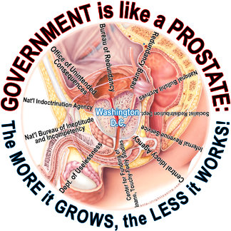 Government is like a Prostate