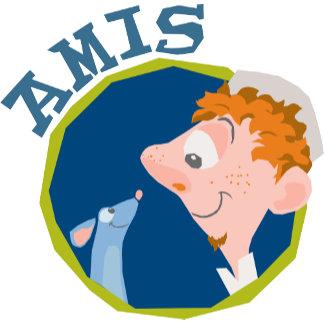 Ratatouille Remy Linguini Amis Friend logo