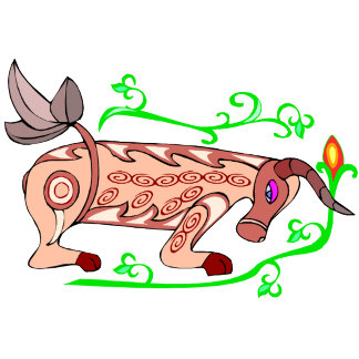 Abstract Bull (D)