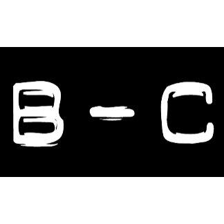 B - C
