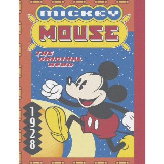 Mickey Mouse 1928 comic book cover