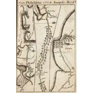 From Philadelphia to Annapolis Maryld 55