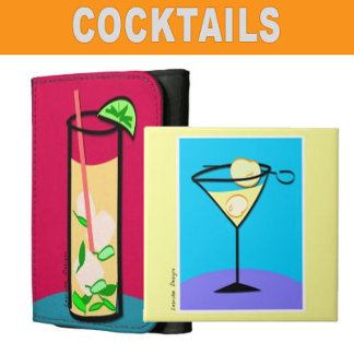 Martini Cocktails Magnets, Gifts and Swag