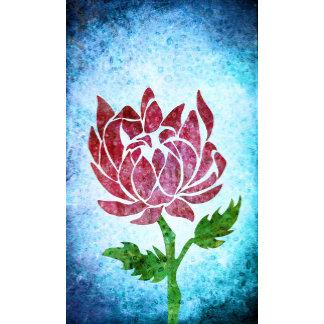 Lotus textured Flower