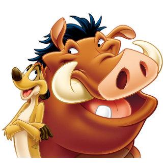 Lion King Timon and Pumba smiling