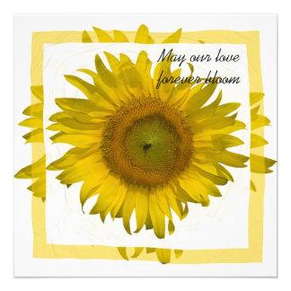 Yellow Sunflower Wedding