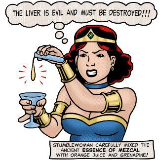 Stumblewoman - Liver is Evil