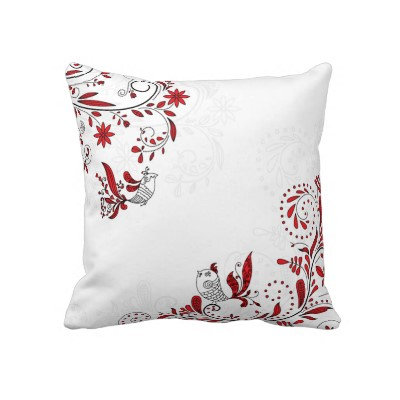 American MoJo Throw Pillow