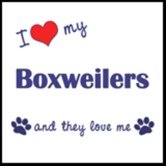 I Love My Boxweilers (Multiple Dogs)