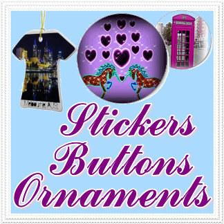 Ornamnets,stickers,buttons