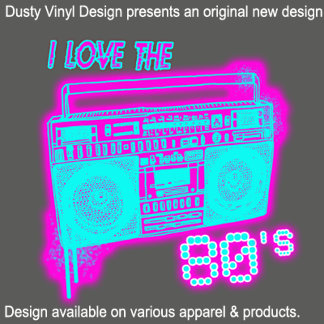 80s Music logos | Cool 80s tees | Eighties tshirts