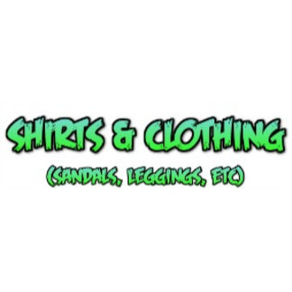 1a. Shirts and Clothing (Sandals, Leggings, etc)