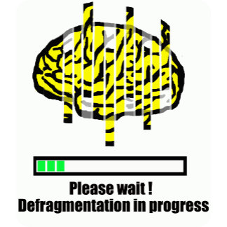Defragmentation in progress