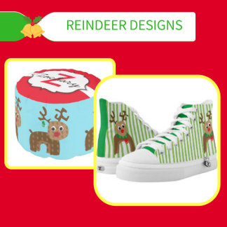 Reindeer T-shirts and Gifts for Christmas