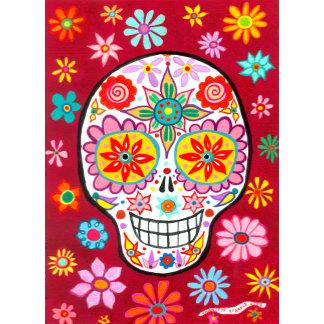 Smiling Sugar Skull