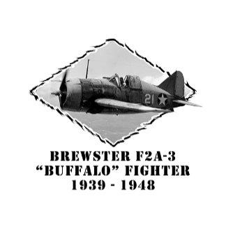 "Brewster F2A-3 ""Buffalo"" Fighter"